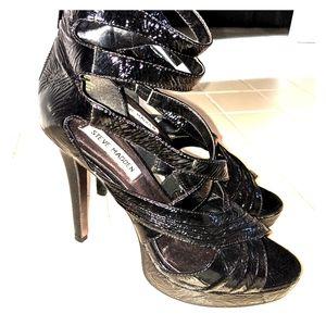 Steve Madden strappy stiletto heels